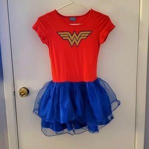 Childrens wonder woman costume